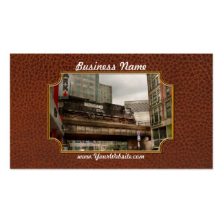 Train - Pittsburg Pa - The industrial city Pack Of Standard Business Cards
