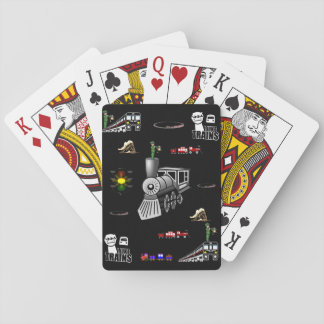 Train Playing Card Deck