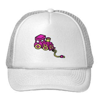 train purple cap