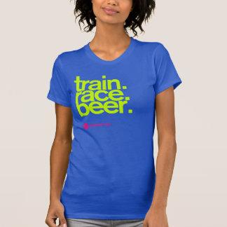 TRAIN.RACE.BEER. Woman's Tank-Top T Shirt