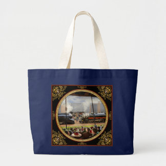 Train - Railroad Pageant 1939 Large Tote Bag