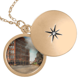 Train - Respect the train 1905 Locket Necklace