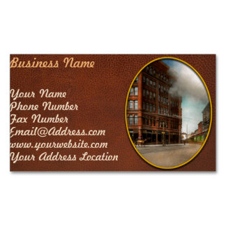 Train - Respect the train 1905 Magnetic Business Card