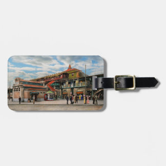 Train Station - Atlantic Ave Control House 1910 Bag Tag