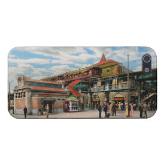 Train Station - Atlantic Ave Control House 1910 iPhone 5 Cover