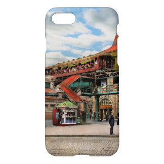 Train Station - Atlantic Ave Control House 1910 iPhone 8/7 Case