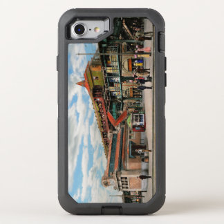 Train Station - Atlantic Ave Control House 1910 OtterBox Defender iPhone 8/7 Case