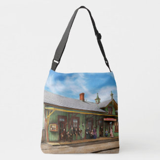 Train Station - Garrison train station 1880 Crossbody Bag