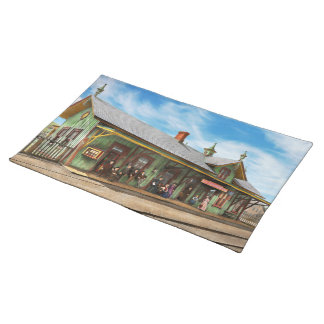 Train Station - Garrison train station 1880 Placemat
