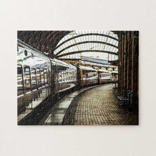 Train Station Jigsaw Puzzle
