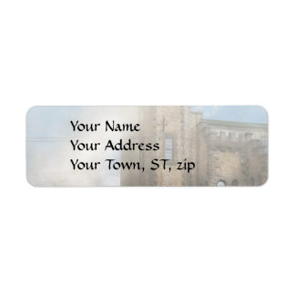 Train Station - Look out for the train 1910 Return Address Label