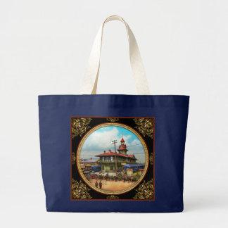 Train Station - Louisville and Nashville Railroad Large Tote Bag