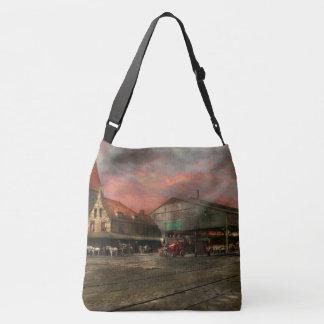 Train Station - NY Central Railroad depot 1905 Crossbody Bag