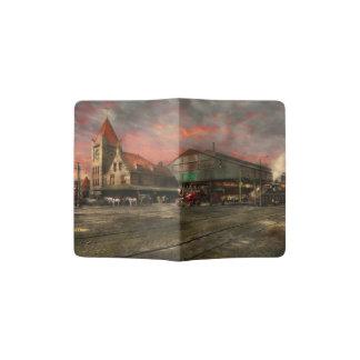 Train Station - NY Central Railroad depot 1905 Passport Holder