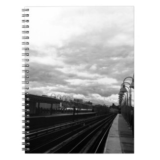 Train Station Spiral Notebook