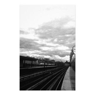 Train Station Stationery
