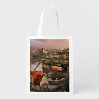 Train Station - Wuppertal Suspension Railway 1913 Reusable Grocery Bag