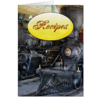 Train - Steam Locomotives Greeting Card