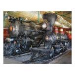 Train - Steam Locomotives Personalised Invitation