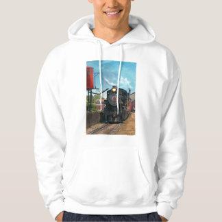 Train - Strasburg Number 9 Hooded Pullover