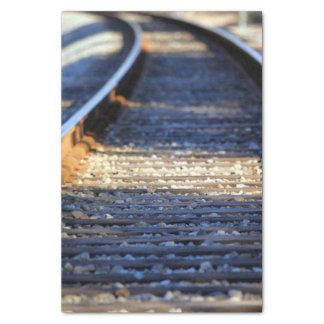 Train Tacks Tissue Paper