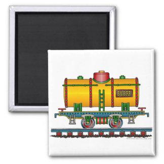 Train Tank Car Railroad Magnets