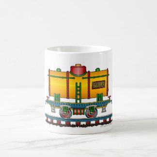 Train Tank Car Railroad Classic White Coffee Mug