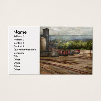 Train - The train graveyard Business Card