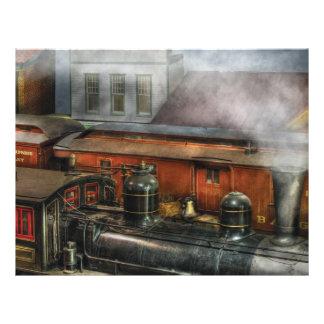 Train - The train yard II Flyer Design