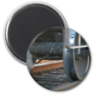 Train Tires Refrigerator Magnet