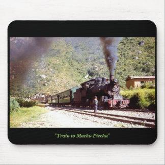 'Train to Machu Picchu' Mouse Pad