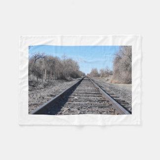 Train Track Blanket