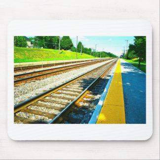 Train Tracks Mouse Pad