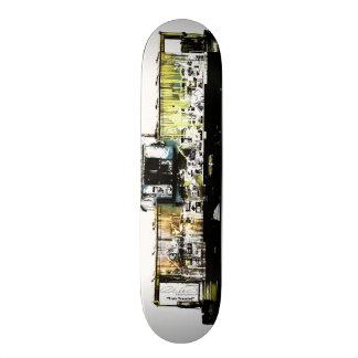 Train Traveled 20.6 Cm Skateboard Deck