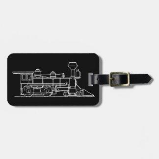 Train Traveler Luggage Tag