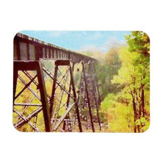 Train Trestle Magnet