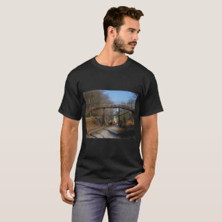 Train under a bridge T-Shirt