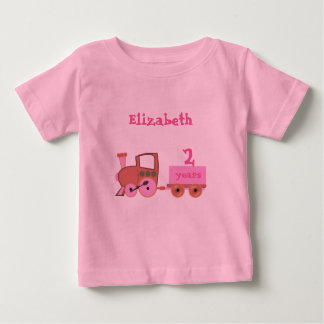 train with age girl baby T-Shirt