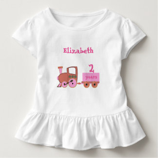 train with age girl toddler T-Shirt
