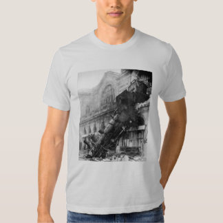 Train Wreck at Montparnasse (1895) Shirts