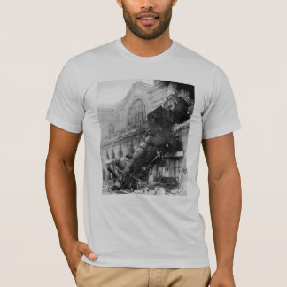 Train Wreck at Montparnasse (1895) T-Shirt