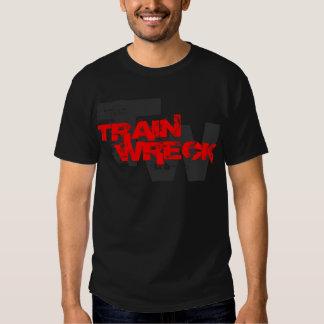 train wreck cwf t shirts