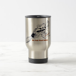 Train Wreck Endings travel mug