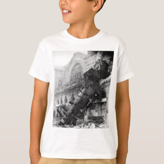 train wreck tee shirt