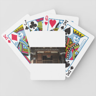 Train your mind to see the good in every situation bicycle playing cards