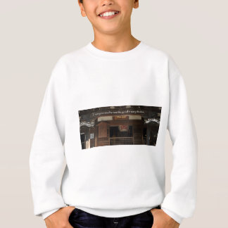 Train your mind to see the good in every situation sweatshirt