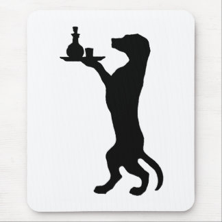 Trained Dog Mouse Pad