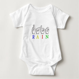 TRAINER  ASL FINGERSPELLED NAME SIGN BABY BODYSUIT