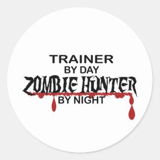 Trainer Zombie Hunter Sticker
