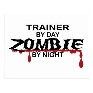 Trainer Zombie Postcard